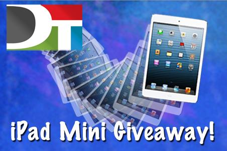 DT iPad giveaway