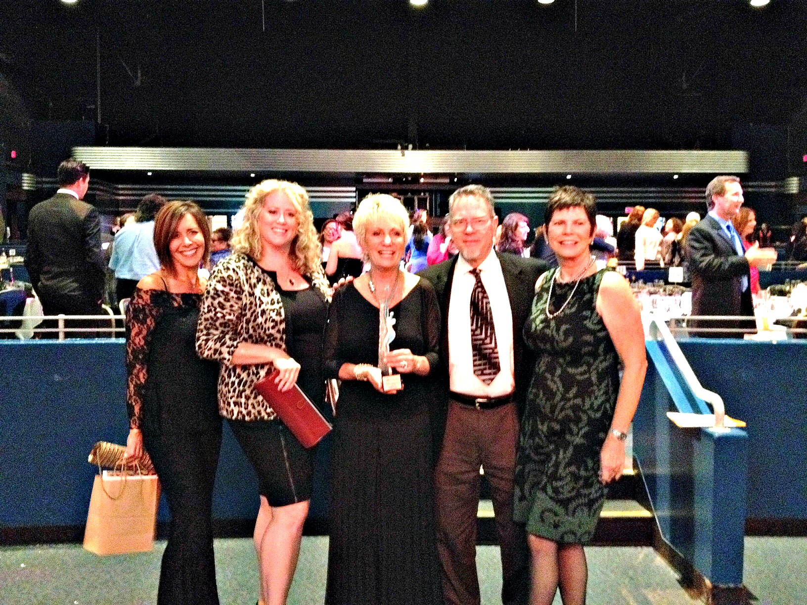 Decision Toolbox team supporting Kim Shepherd's NAWBO-OC RW Innovator Award