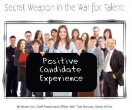 positive candidate experience white paper