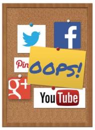 social media mistakes job seekers