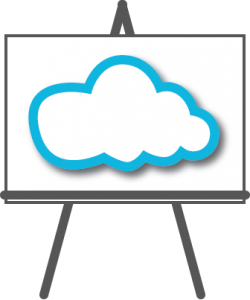 cloud easel