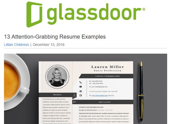 13 attention grabbing resume examples dt s nicole cox to