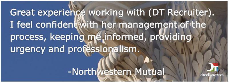 Northwestern Mutual testimonial